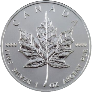 maple leaf silber 1oz