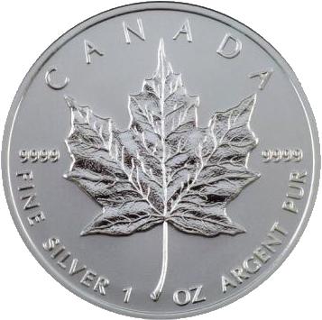 Silber Maple-Leaf