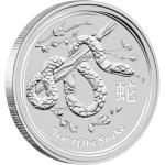 Lunar II Schlange 2013 Silbermünze