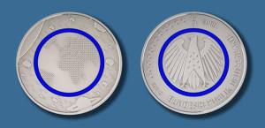 5-Euro-Sammlermünze Planet Erde