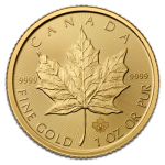 Gold Maple Leaf 2015