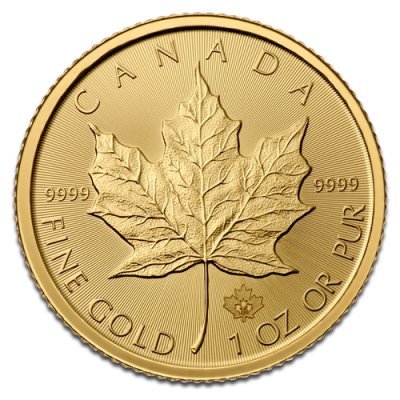 Gold Maple-Leaf