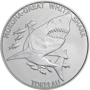 Tokelau Mokoha-Great White Shark