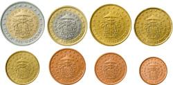 Euromünzen Sede-Vacante 2005