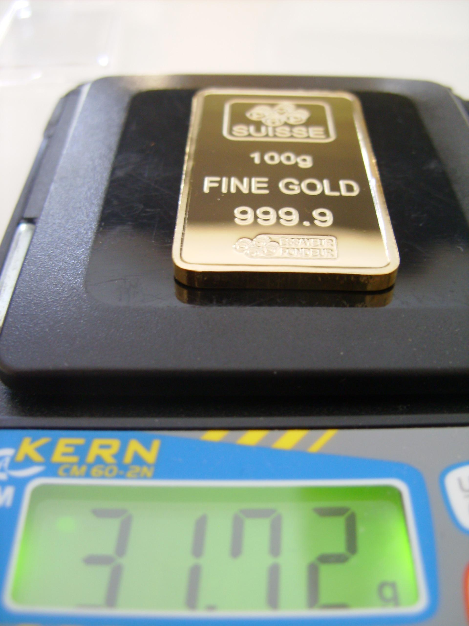 Pfandkreditgewerbe warnt vor zunehmender Anzahl an gefälschten Goldbarren und Goldmünzen