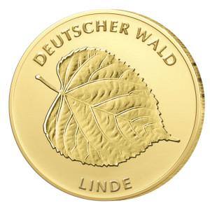 """Deutsche Goldmünze 20 Euro """"Linde"""" 2015 erfolgreich ausgegeben"""