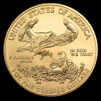 Goldmünzen Absatz in den USA zieht stark an
