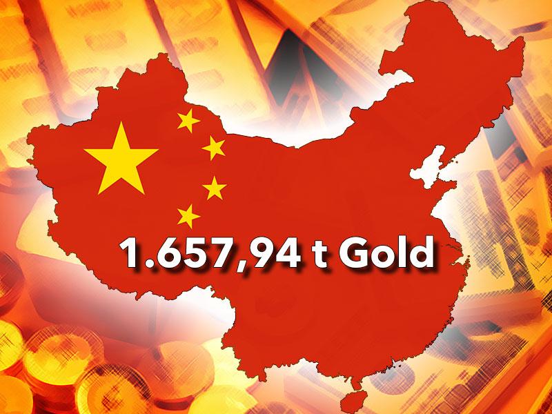 VR China bestätigt offiziell die massive Erhöhung der Goldreserven