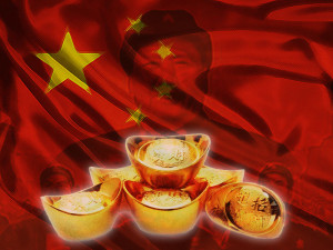 Chinas Goldreserven steigen um 19 Tonnen im Dezember 2015
