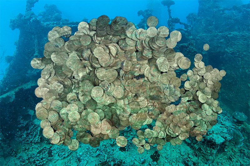 Sensationsfund — Goldschatz vor der Küste Floridas