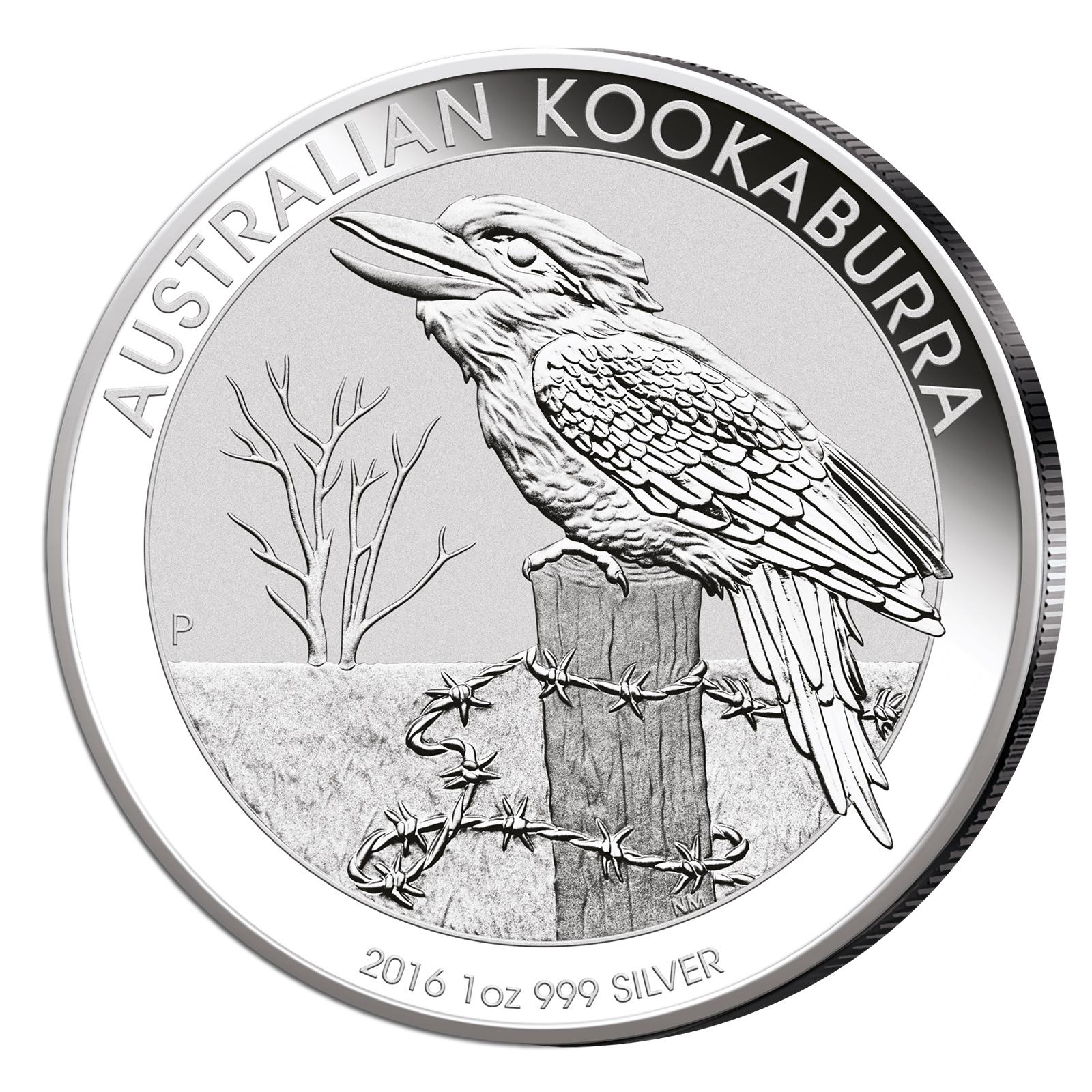 Achtung: Kookaburra 2016 Silbermünzen sind gelandet