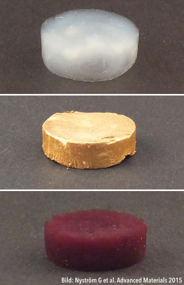 Schaumstoff aus Gold — Aerogel — Wissenschaftliche Sensation