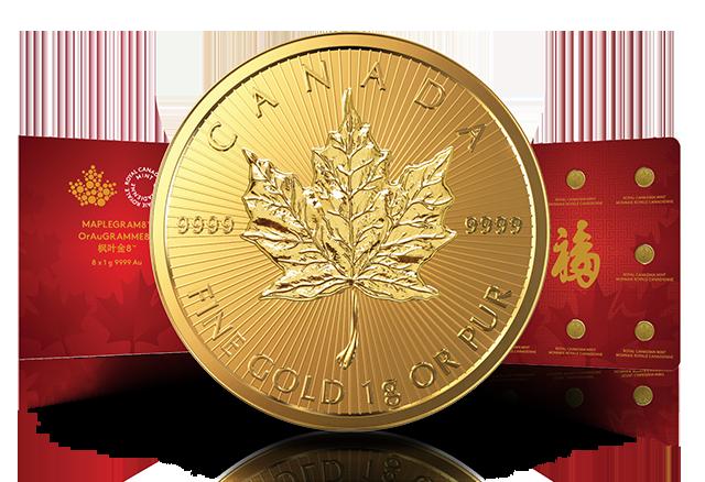 Maplegram8™ Nachfolger der Maplegram25™ Goldmünze