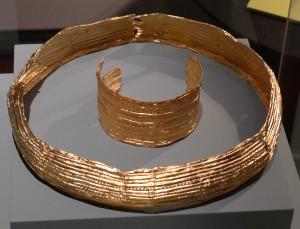 HMB Goldschmuck Bronzezeit 550BC