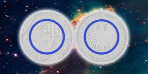 Schlechte Nachrichten für Fälscher: Die neue Fünf-Euro-Münze ist nahezu fälschungssicher