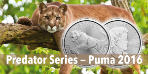 Kanada Predator Serie Silber — Silbermünze Puma 2016 1oz Silber