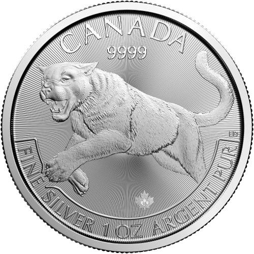 Kanada Predator Serie Silber Silberm 252 Nze Puma 2016 1oz
