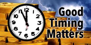 Richtiges Timing ist alles — Wann es sinnvoll ist in Edelmetalle zu investieren