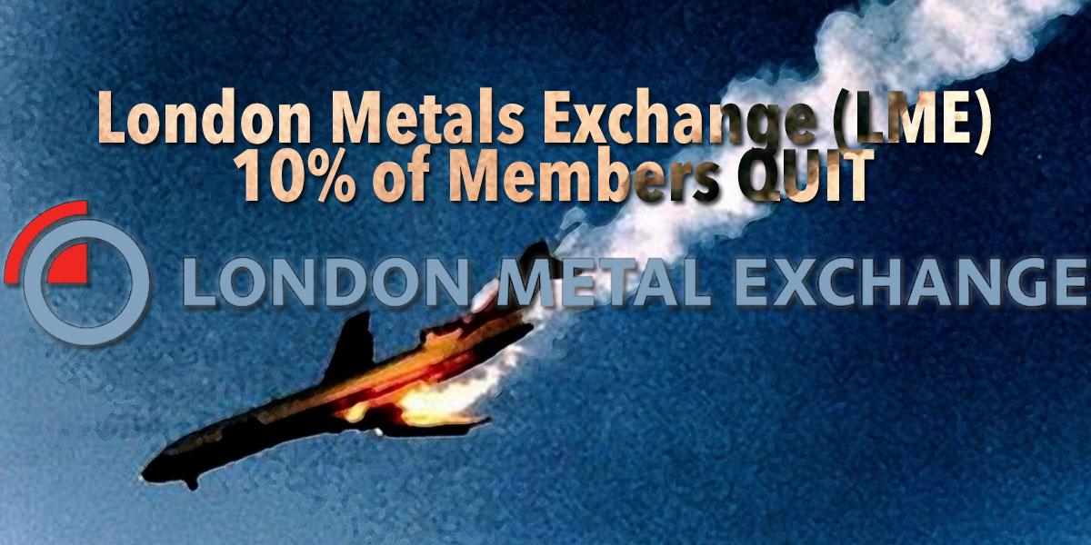 Sechs große Minengesellschaften kündigten ihre LME-Mitgliedschaft