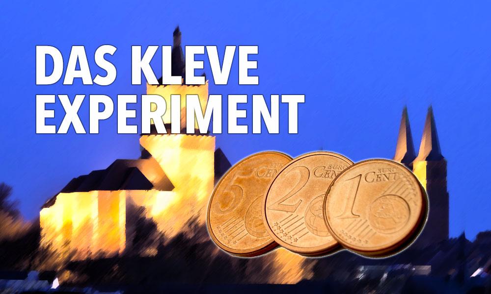 Wie geht es Kleve nach den ersten Wochen ohne Cent-Münzen?