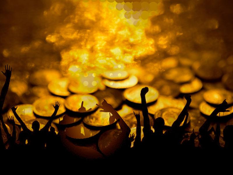 Gold-Party? — Nicht nur der April macht, was er will