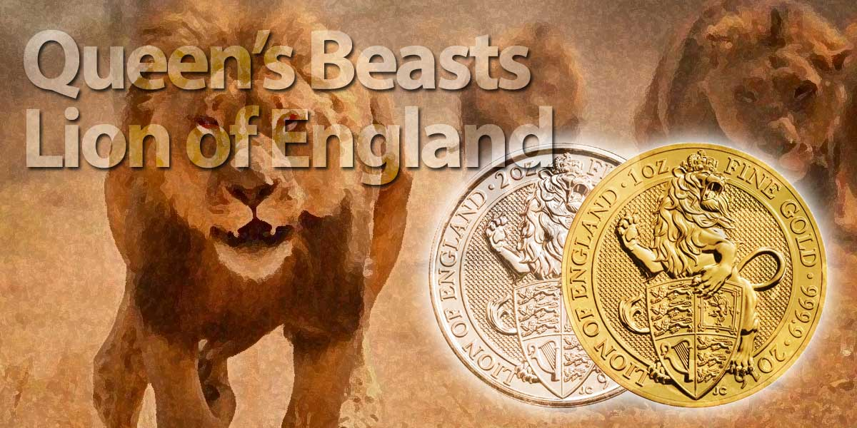 Queen's Beasts — Die neue Münzserie Queen's Beasts der Royal Mint