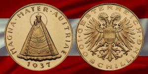 Gold Schilling 1937