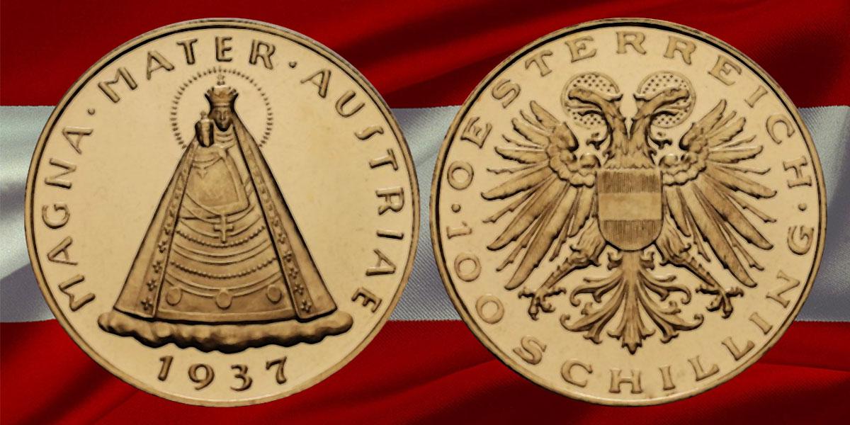 Historische Gründe für die Änderung der Gestaltung der Gold Schillingmünzen