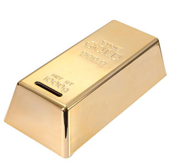 Goldbarren - Attrappe