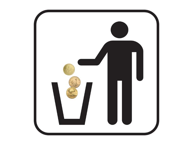 Gefälschte Krügerrand Goldmünzen: Müllmann bekommt nur Bewährungsstrafe