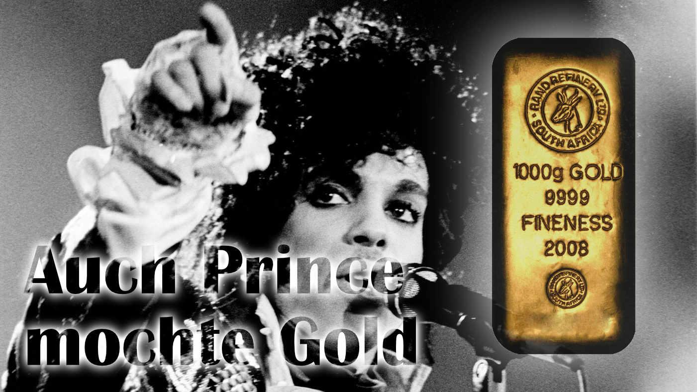 Auch Prince setzte auf Goldbarren — 67 Goldbarren im Nachlass gefunden