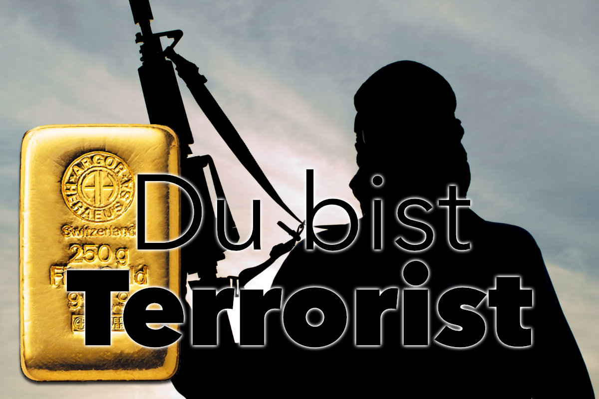 Sind Goldkäufer alles Terroristen? Geldwäschegesetz wird verschärft!