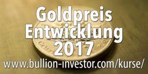 Goldpreisentwicklung 2017 wird von Indien abhängen
