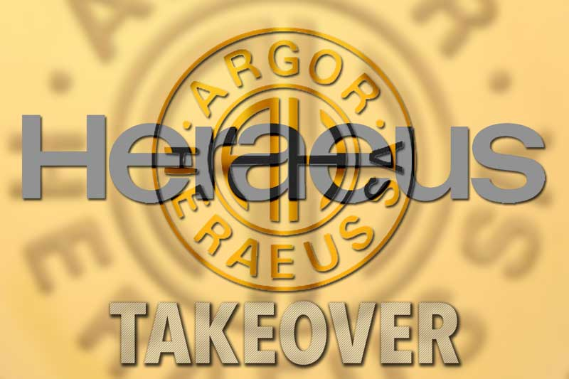 Heraeus übernimmt Schweizer Edelmetallfirma Argor