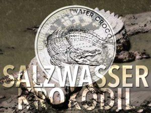 Salzwasser-Krokodil — neue 1/2 oz Silbermünze der Perth Mint