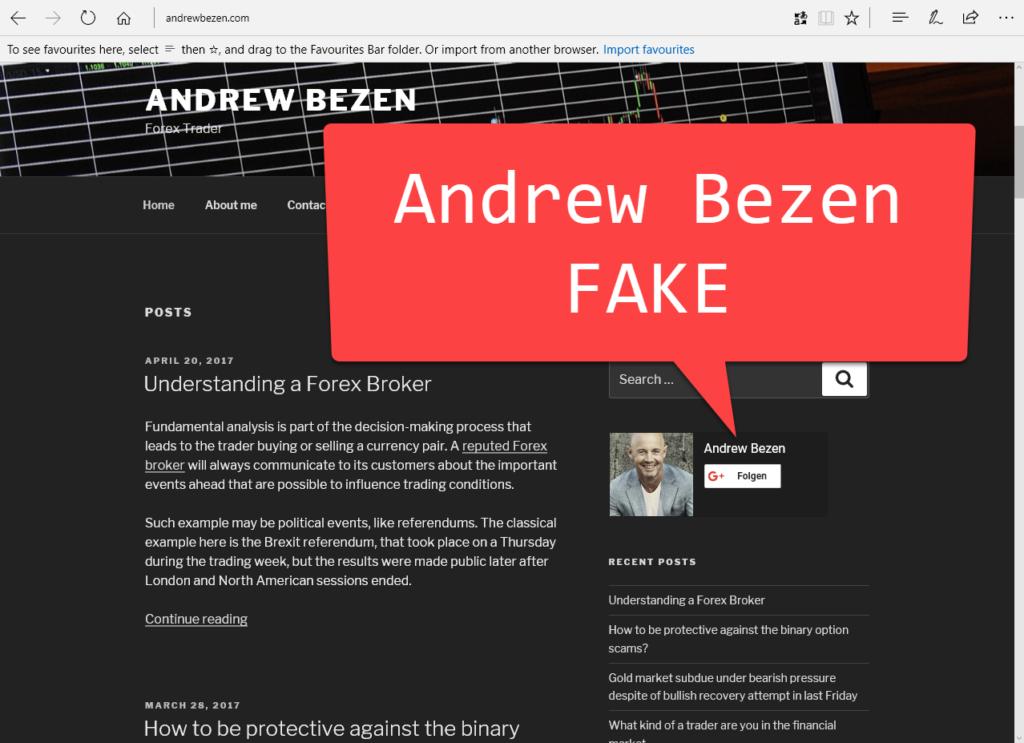 CyberCrime — Ukrainische Hacker — Identitätsdiebstahl, Betrug und Fake-Profile — Andrew Bezen <andrew.bezen@gmail.com>