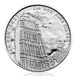 BIG BEN Silbermünze ist der Beginn der neuen Serie Landmarks of Britain — 1 oz Silber Big Ben