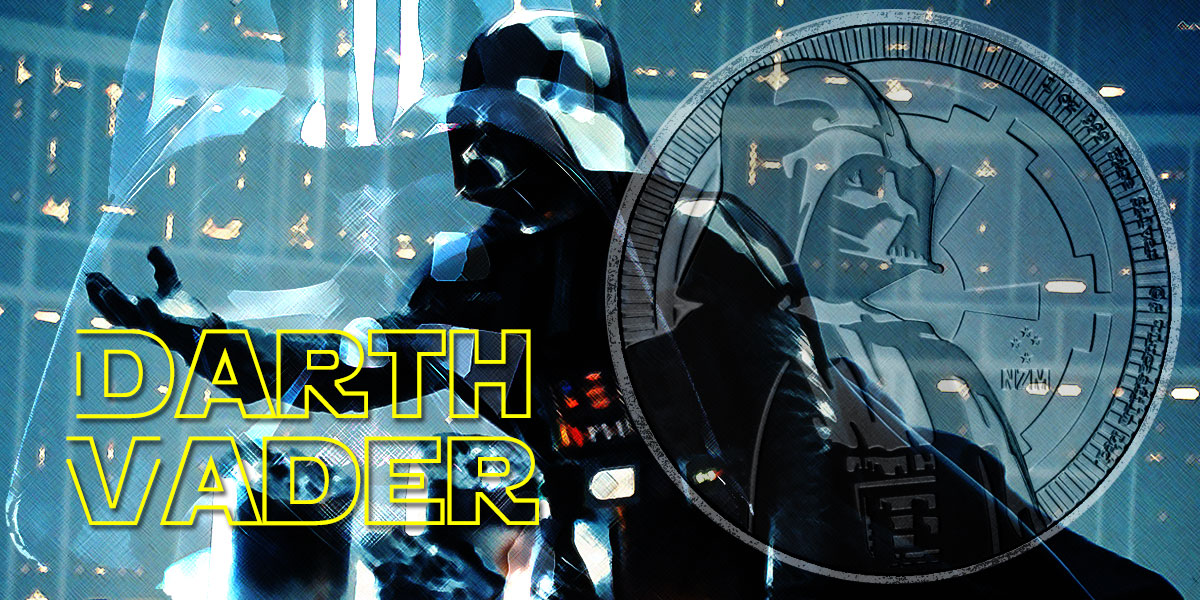 Neue Darth Vader Silbermünze als Bullionausgabe der New Zealand Mint — Star Wars Serie