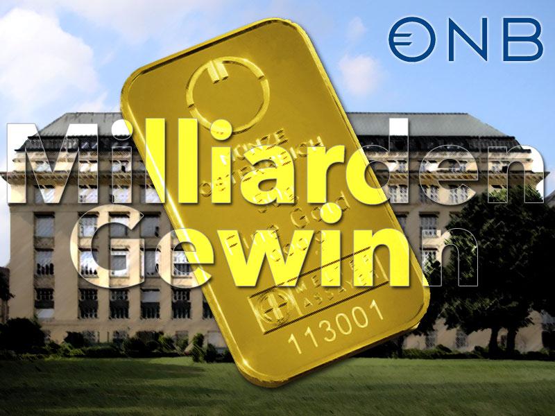 Österreich macht mit Goldbarren 1,1 Milliarden Euro Gewinn