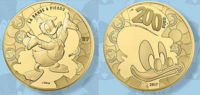 Dagobert Duck Auf Euro Goldmünze Auflage Nur 500 Stück