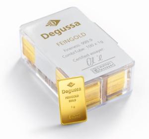 degussa-combitube-gold-100gramm