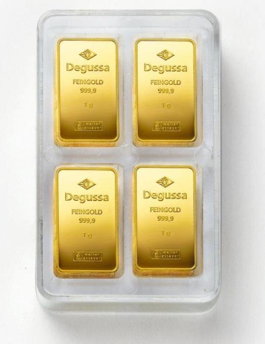 degussa-combitube-gold-100gramm-offen