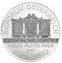 Münze Österreich verkauft fast doppelt so viele Platin-Philharmoniker wie die US Mint Platin-Eagles
