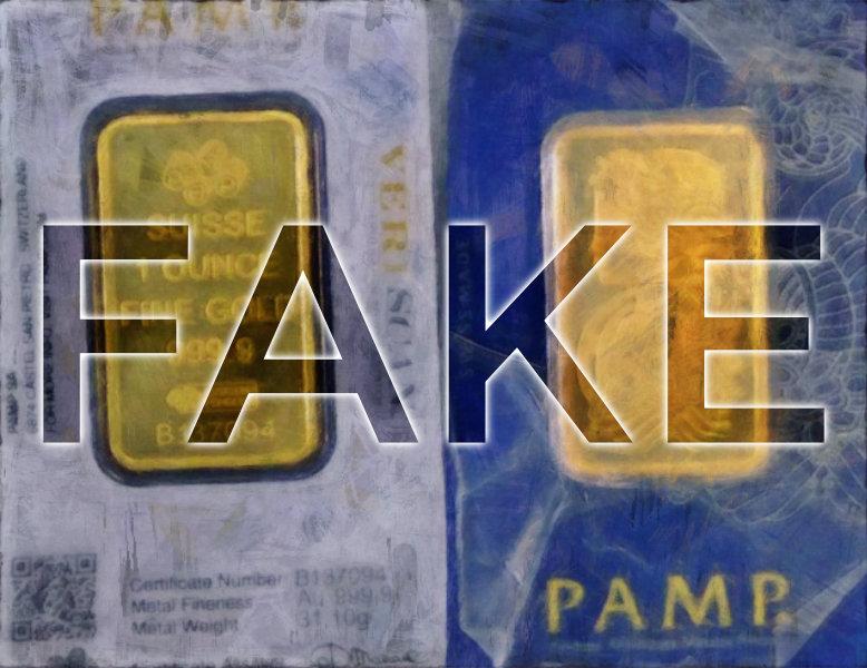 FAKE-Goldbarren verkauft — Knast für 26-jährigen Verkäufer