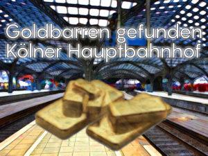 Wem gehören die Goldbarren aus dem Kölner Bahnhof: 82 Barren Gold für über 320.000 Euro?