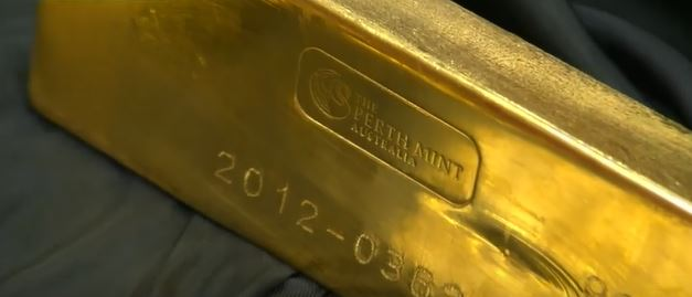 Perth Mint 400 oz Goldbarren