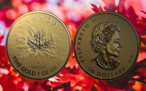 Maple Leaf 2018 Fractional Set — Limitiertes Goldmünzen-Set aus Kanada