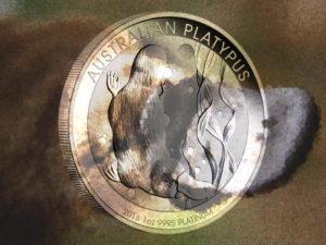 Platypus Platinmünzen aus Australien (Schnabeltier): Auflagen bleiben klein