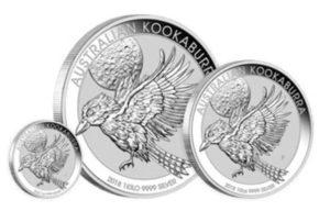 Kookaburra 2018 Silbermünze aus Australien auf dem Markt