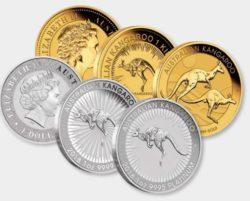 Perth Mint Neuheiten 2018 — Lunar Hund 2018, Kookaburra 2018, Känguru 2018 und Koala 2018